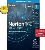 Norton 360 for Gamers 2021, Cybersicherheit für PC-Gamer, Mac oder Mobilgerät |3 Geräte| 1 Jahr | PC/Mac/Android | Download | Aktivierungscode in Originalverpackung