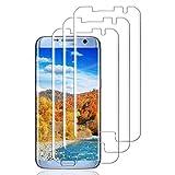 Haikingmoon Samsung S7 Edge Panzerglas Schutzfolie (3 Stück),Samsung S7 Edge Panzerfolie,9H 0.26MM HD Displayschutz Panzerglasfolie Glasfolie für Samsung Galaxy S7 Edg