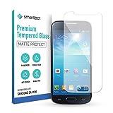 smartect Mattes Schutzglas kompatibel mit Samsung Galaxy S4 mini [MATT] - Tempered Glass mit 9H Härte - Blasenfreie Schutzfolie - Anti-Kratzer Display