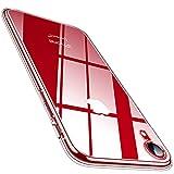 TORRAS für iPhone XR Hülle (Vergilbungsfrei, Völlig Durchsichtig) Unzerstörbare Stoßfest Handyhülle iPhone XR Case Dünn Kratzfest Slim Transparent Schutzhülle iPhone XR [6.1'] Crystal C