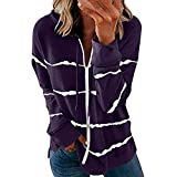 Dresses Women's Fashion Costume Pumpkin Pattern 1950s Housewife Round Neck Long Sleeve Casual with Halloween Print Dress Zip Party Evening Dress Cosplay Carnival Festiva(Purple, XXL)