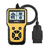 Novosun V311A OBD2 Diagnosegerät, Plug-and-Play Scanner Auto Diagnose-Tool Unterstützung 7 Sprachen für alle Fahrzeuge mit 16-Pin S