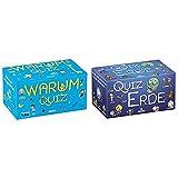 moses. Das Warum-Quiz | Kinderquiz | Für Kinder ab 6 Jahren & moses. 90325 Das Quiz der Erde | Kinderquiz | Für Kinder ab 8 Jahren, b