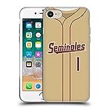 Head Case Designs Offiziell Offizielle Florida State University FSU Baseball-Gold Soft Gel Handyhülle Hülle kompatibel mit Apple iPhone 7 / iPhone 8 / iPhone SE 2020