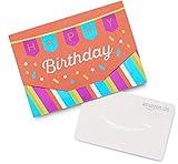 Amazon.de Geschenkkarte in Geschenkkuvert (Happy Birthday)