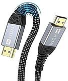 4K HDMI Kabel,ONIOU 3M Highspeed HDMI 2.0 Kabel 4K@60Hz 18Gbps Kompatibel für HD 1080P, HDR, Highspeed mit Ethernet, ARC, PS3/PS4, Xbox One/360, HDTV und Monitor (3m)