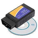 Dhouse Diagnosegerät Auto ELM327 ODBII ODB2 V1.5 Bluetooth Autodiagnosescanner Wireless Universal Code Leser für PKW LKW Auto Tester S