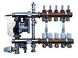 WILO Festwertregelset für Fußbodenheizung aus Heizkreisverteiler (11 Port)