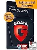 G DATA Total Security 2021 | 10 Geräte - 1 Jahr | Virenschutzprogramm | Passwort Manager | PC, Mac, Android, iOS | Aktivierungskarte | zukünftige Updates ink