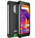 Blackview BV6600 Pro Wärmebildkamera Outdoor Smartphone ohne Vertrag, 8580mAh Akku(Rückwärtsladung), 5.7'' HD+ IP68&IP69K Wasserdichtes Handy Android 11, Octa Core 4GB + 64GB, 16MP Kamera GPS Grü