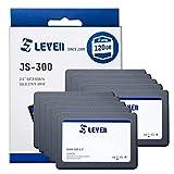 LEVEN SSD 128GB 120GB 10 Stücke SATA III 6Gb/s, 2.5 Zoll, Interne SSD - bis zu 500 MB/s - passend für Laptop & Desktop (JS300SSD120GBx10)