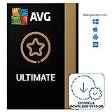 AVG Ultimate 2021/2022 - Virenschutz-Paket mit AVG Secure VPN und AVG TuneUp zur Beschleunigung des PCs - für Windows, macOS, iOS und Android | 10 Gerät | 1 Jahr | PC/Mac | Aktivierungscode per E
