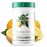 Meine Orangerie Zitrusdünger für alle Zitruspflanzen - [1 kg] - Premium Pflanzendünger - Verzichten Sie auf fertig flüssig Zitrus Dünger für Ihre Pflanzen - Citrus Dünger für Zitronenb