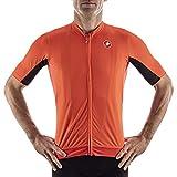 CASTELLI Herren VANTAGGIO Jersey T-Shirt, Fiery Red/Black, XXL