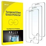 JETech Schutzfolie Kompatibel mit iPhone SE 2020 / 8 / 7 / 6s / 6, Gehärtetem Glas Panzerglas, 3 Stück