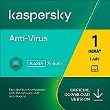 Kaspersky Anti-Virus 2021 | 1 Gerät | 1 Jahr | Windows | Aktivierungscode per E