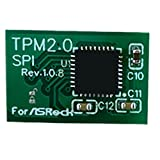 CHENXIAO TPM SPI Modulsystemkomponenten Verschlüsselungsmodul Afstandbediing Karte Ondersteunt Versie 2.0 12 14 18 20-1pin Ondersteuning Multi-Brand Moederbord-For Asrock 14Pin SPI
