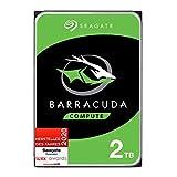 Seagate Barracuda, interne Festplatte 2 TB HDD, 3,5 Zoll, 7200 U/Min, 256 MB Cache, SATA 6 GB/s, silber, FFP, Modellnr.: ST2000DM008, (Verpackung kann variieren)
