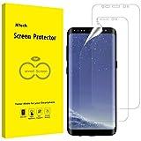 JETech Schutzfolie Kompatibel mit Samsung Galaxy S8 (Nicht Geeignet S8+), TPU Ultra HD Folie, Fall Freundlich, 2 Stück