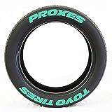 Hangarone Reifensticker Reifenbeschriftung Tyre Tire Sticker, Autoreifen Aufkleber Persönlichkeit modifiziert Reifen Buchstabe Dekorative Aufkleber, 3D Stereo Autoreifen Aufkleb