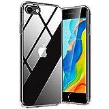 TORRAS Diamond Series für iPhone 7/8/SE 2020 Hülle (Vergilbungsfrei) Extrem Transparent iPhone SE Hülle/iPhone 8 Hülle/iPhone 7 Hülle Hard PC Back und Silikon Bumper Case Handyhülle (Durchsichtig)