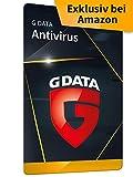G DATA Antivirus 2021 | 1 PC - 1 Jahr | Antivirenprogramm mit Anti-Spam | Windows 10 / 8 / 7 | Aktivierungskarte | zukünftige Updates ink