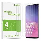 apiker [4 Stück] TPU Schutzfolie für Samsung Galaxy S10, Samsung Galaxy S10 TPU Displayschutzfolie, blasenfrei, hohe Definition, hohe Empfindlichk