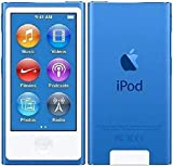Apple IPod Nano 7. Generation 16GB Blau - verpackt in weißer Box mit Zubehör - keine Retailverpackung