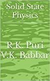 Solid State Physics (English Edition)
