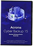 Acronis Cyber Backup Standard Windows Server Essentials - (v. 15) - Box-Pack + 1 Year Advantage Premier - 1 physischer/virtueller Server - Win - Deutsch|Standard|1 Gerät|1 Jahr|PC|Disc|D
