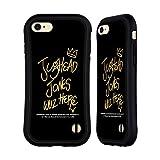 Head Case Designs Offiziell Offizielle Riverdale Jughead Wuz Here Schwarz und Gold Jughead Jones Hybride Handyhülle Hülle Huelle kompatibel mit Apple iPhone 7 / iPhone 8 / iPhone SE 2020