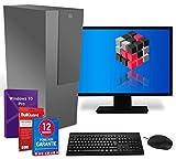 PC Komplettsystem mit Windows 10 Pro, Intel Quad Core i5, 4 GB RAM 500 GB HDD 19 Zoll TFT Monitor, Maus, Tastatur, Bluetooth, WLAN, & GRATIS BullGuard & 12 Monate Garantie - NL4PCDT (Generalüberholt)