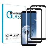 Carantee [2 Stück] Panzerglas Schutzfolie kompatibel mit Samsung Galaxy S8, Anti Fingerprint, Kratzfest, 9H-Härte, HD-Displayschutzfolie, Panzerglasfolie für Samsung S8