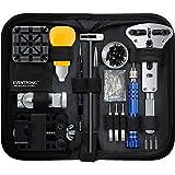 Eventronic Uhrenwerkzeug Set , Uhr Reparatur Uhrmacherwerkzeug Uhr Werkzeug Tasche Watch Tools in Schwarze Ny