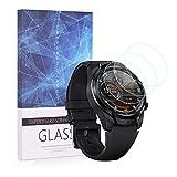Becemuru Ticwatch Pro 4G/LTE Displayschutzfolie, Huafly 9H Full Coverage Screen Tempered Glass Protector für Ticwatch Pro 4G/LTE Smartwatch (3 Stück)