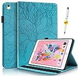 KSHOP Hülle für iPad 7 (10.2-inch, 2019 Model, 7th Generation) iPad Air (3rd Gen) 10.5 inch 2019 / iPad Pro 10.5 Schutzhülle Handyhülle Tasche Auto Schlafen/Wachen,B