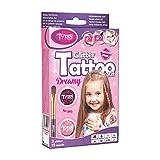 Tytoo Glitzertattoo Set für Mädchen mit 15 Schablonen- hypoallergen und hält bis zu 18 Tage - 100% Geld-zurück-G