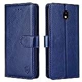 xinyunew Handyhülle für Samsung Galaxy J7 2018 Hülle,Hülle Handyhülle iPhone Leder Flip Case Ständer PU Brieftasche Schutzhülle für Samsung Galaxy J7 2018,B