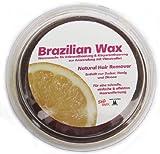 400g Süß Wax Brazilian Wax zur Enthaarung mit Vlies 100% Natürlich. Warmwachs aus Zucker, Honig und Zitrone. Brazilianische Sugaring Zuckerpaste + 20 V