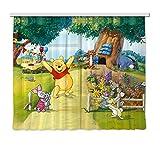 Gardine/Vorhang FCS xl 4309 Kinderzimmer Disney Winnie T