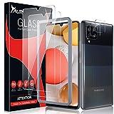 TAURI Panzerglas Kompatibel Mit Samsung Galaxy A42 5G Enthält 2 Stück A42 Kamera Panzerglas Und 2 Stück A42 Schutzfolie Alignment Frame Klar HD Display