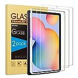 SPARIN Schutzfolie kompatibel mit Samsung Galaxy Tab S6 Lite 10.4 zoll, Panzerglasfolie mit Montagerahmen,2 Stück Displayschutzfolie, 9H-Härteg