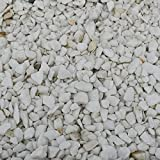 Stones Garden Stein Thasos White Splitt 8-16mm 5 KG Marmorkies Weiss Gartenkies Zierk