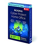 Acronis Cyber Protect Home Office (ehemals Acronis True Image) | Essentials Version | 3 PC/Mac | Cyber Protection-Lösung für Privatanwender | Backups, Imaging, Ransomware-Schutz, etc. | 1-J