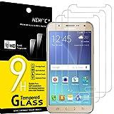 NEW'C 3 Stück, Schutzfolie Panzerglas für Samsung Galaxy J7, Frei von Kratzern, 9H Härte, HD Displayschutzfolie, 0.33mm Ultra-klar, Ultrabeständig