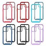 Stoßfeste Handyhülle Kompatibel mit iPhone 13 pro max Case,6.7 inch,TPU Farbe Rundumschutz,Abnehmbare Anti-Drop-Handyhülle Bumper-Case,Flexible Kratzfest Schutzhülle Hülle mit MagS