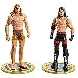 WWE GVJ21 - Championship Showdown 2er-Pack, AJ Styles vs Riddle, 2 bewegliche Actionfiguren (ca. 15 cm), ab 6 J