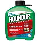 Roundup 3211 Express Unkrautfrei, Fertigmischung zur Bekämpfung von Unkräutern und Gräsern, 5 L