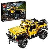 LEGO 42122 Technic Jeep Wrangler 4x4 Spielzeugauto, Geländewagen, SUV Modell Bauset für Kinder und Erw
