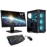 Sedatech Wasserkühlung Expert Gaming PC Intel i9-9900KF 8X 3.6GHz, Radeon RX6600 XT 8Gb, 16GB RAM DDR4, 500GB SSD NVMe M.2 PCIe, 2TB HDD, USB 3.1, WLAN, Monitor, Maus/Tastatur, Win 10